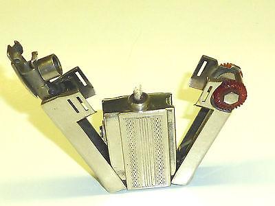 FIREMASTER (ARTHUR DUBSKY) PIPE PETROL WICK LIGHTER - 1948 - AUSTRIA - VERY RARE
