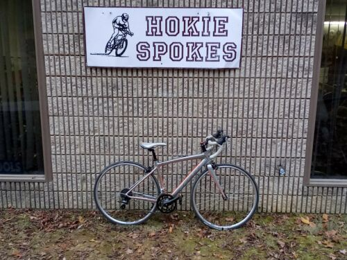 Bicycle 45cm Silver Felt ZW100 Road Bike GC
