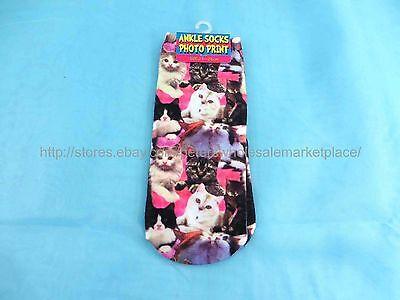 Girls Dresses For Cheap (US SELLER- 3D cheap dress socks for women cats girl women crazy socks low cut)