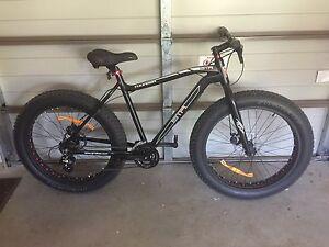 "21"" GTR Thunder 24 Speed Fat Wheel Mountain Bike Anna Bay Port Stephens Area Preview"