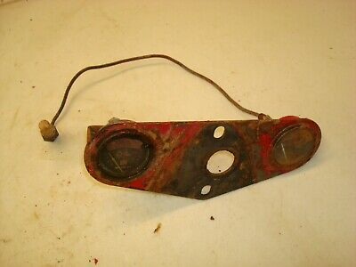 1951 Farmall H Tractor Gauge Plate