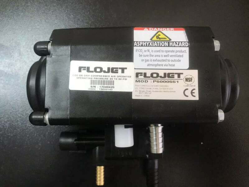 Brand New FLOJET BIB Syrup Pump MOD: P5000551