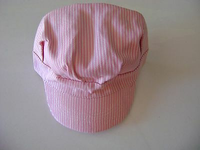 Engineer Pink Girl's Railroad Hat