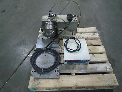 Haas Cnc Hrt-160 Rotary Table With Haas Servo Control And 6 Air Chuck