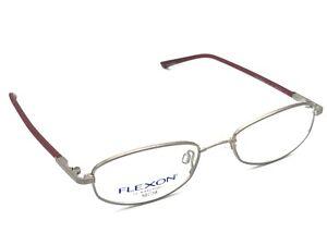Flexon by Marchon 659 Women's Satin Blush Metal Eyeglasses Frames 50-18 140 New