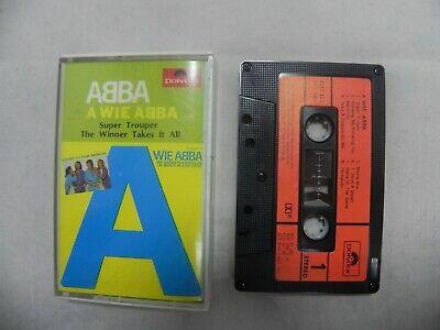 Abba - A Wie Abba 1981 Mega Rare Korea Cassette Tape