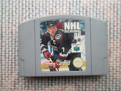 Jeu Nintendo 64 / N64 Game Nhl Breakaway 98 PAL retrogaming original *