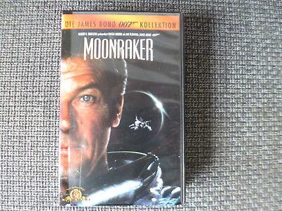 MOONRAKER - DIE JAMES BOND 007 KOLLEKTION - VHS - VIDEO keine DVD (James Bond Videos)