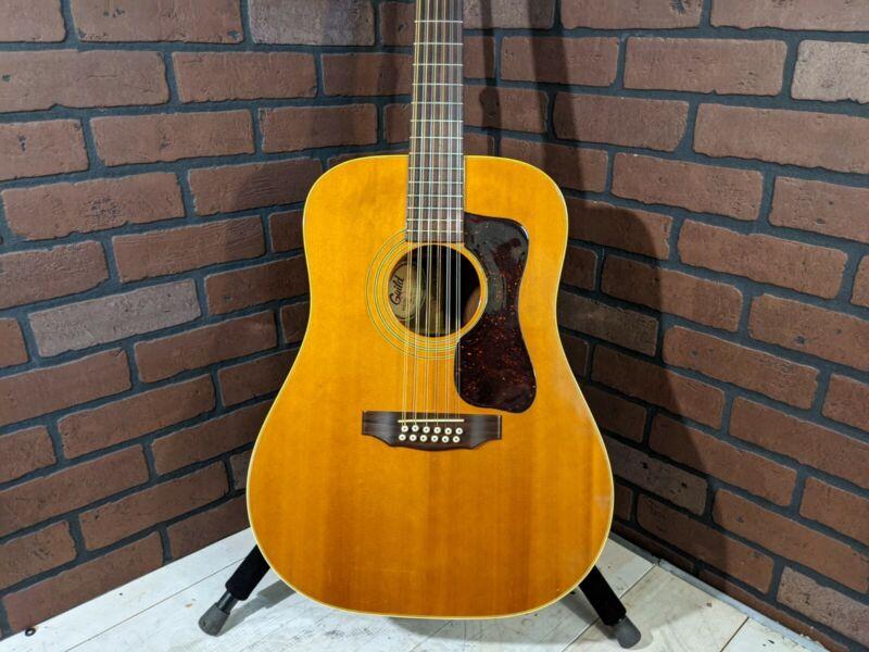 Guild G212-NT 12-String Acoustic Guitar - Vintage