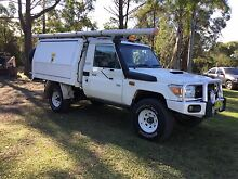 Toyota Landcruiser 4x4 workmate V8 diesel Somersby Gosford Area Preview