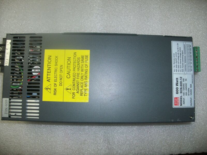 Mean Well SCN-600-12 D.C. power supply