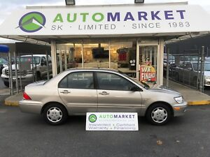 2003 Mitsubishi Lancer ES AUTO A/C FINANCE ALL CREDIT TYPE'S!