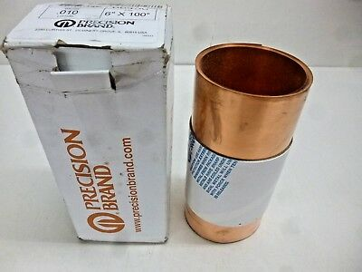 New Precision Brand Copper Shim Stock 110 Grade 68450
