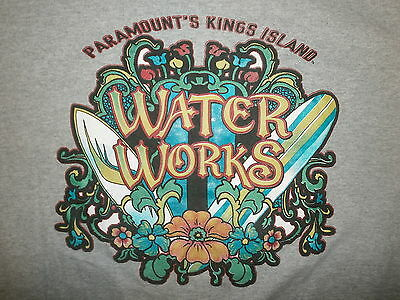 KINGS ISLAND WATER WORKS T SHIRT Soak City Crocodile Dundee's Boomerang Bay Park