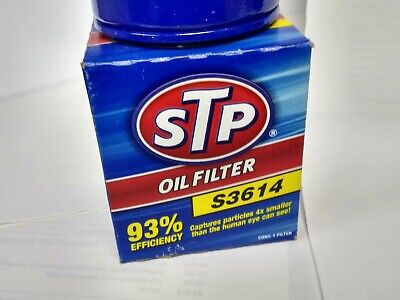 STP S3614 OIL FILTER fits EDGE ESCAPE EXPLORER FIESTA FUSION MUSTANG 4cyl Turbo