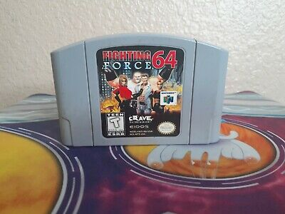 Fighting Force 64 (Nintendo 64, 1999) Guaranteed -- Authentic -- Tested