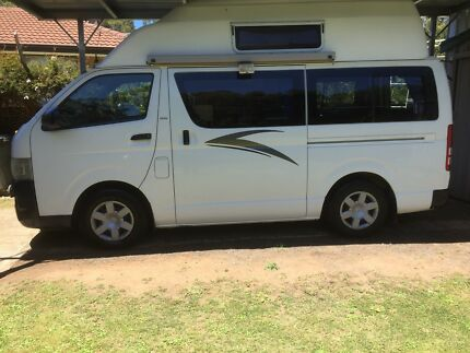 Toyota Hiace Camper Van 2009 Glenorchy Glenorchy Area Preview