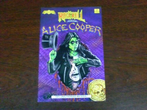 Rock 'n' Roll Comics # 18 D ALICE COOPER COLOR TOTAL 10 ISSUES