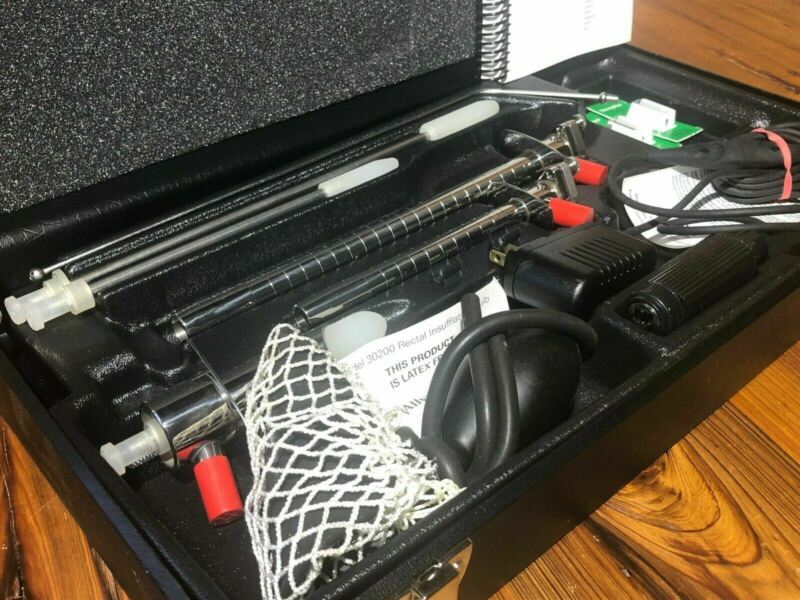 Welch Allyn Fiber Optic Sigmoidoscope Set 35303 Proctology 73210 Light Handle