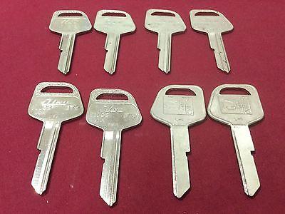Gm By Curtis Ilco B79 Key Blanks Set Of 8 - Locksmith