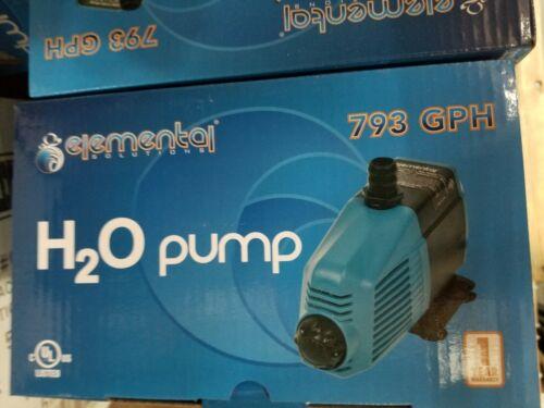 793 GPH Elemental Solutions H2O Pump