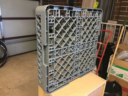 Commercial dishwasher rack tray 500x500