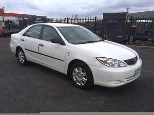 2003 TOYOTA CAMRY ALTISE AUTO SEDAN REG RWC EXTREMELY LOW MILEAGE Dandenong Greater Dandenong Preview