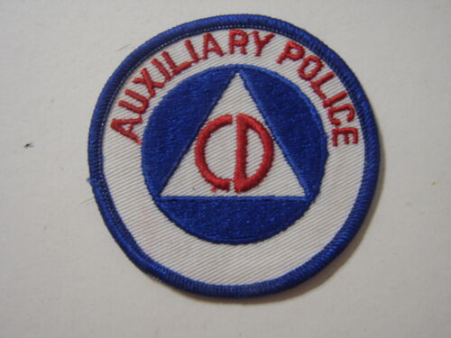 CIVIL DEFENSE PATCH - AUXILIARY POLICE NOS :KY21-1