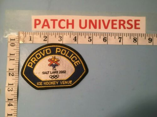 PROVO UTAH POLICE  SHOULDER PATCH  P035