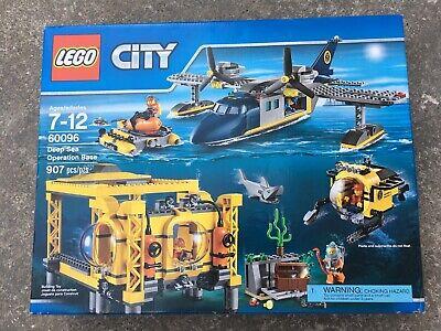 LEGO CITY DEEP SEA OPERATION BASE 60096, Brand New, 907 pieces