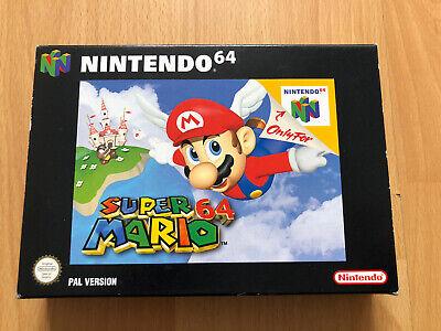 SUPER MARIO 64 ~ Nintendo 64 N64 PAL Boxed & Complete Collectors