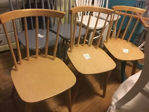 Natural chairs- 3 available