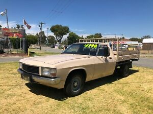 1983 Holden WB Ute Column shift Automatic Maddington Gosnells Area Preview
