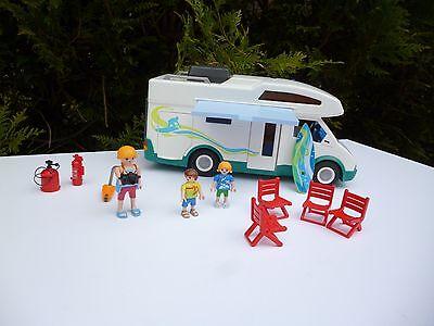 ♥ Jouet Camping Car Playmobil Année 2005 Réf: 6671