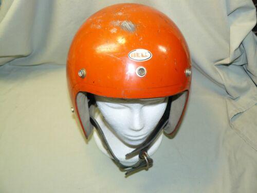 Vintage 1970 Bell Super Magnum Motorcycle Helmet  size 7-1/8