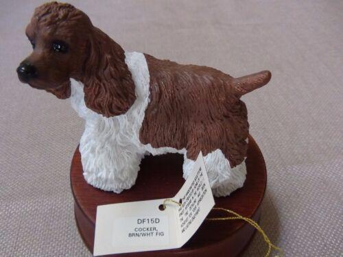 Cocker Spaniel Dog Music Box