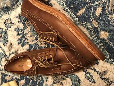 Alden Longwing Blucher Natural Chromexcel Size 10D - New in Box