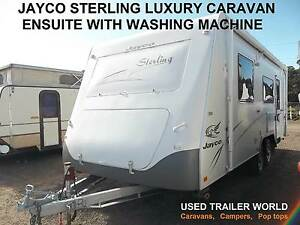 JAYCO STERLING  20' ENSUITE CARAVAN. WASHING MACHINE. ISLAND BED Heathcote Sutherland Area Preview