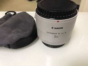 CANON EF 2X EXTENDER (Teleconverter) Mark III only used once Belmont Brisbane South East Preview