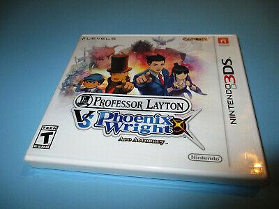 Professor Layton vs. Phoenix Wright: Ace Attorney Nintendo 3DS XL 2DS NEW (New 2ds Xl Vs New 3ds Xl)