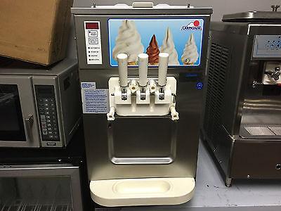 Carpigani Uc 1131g Frozen Yogurt Ice Cream Gelato Two Flavor W Twist Machine