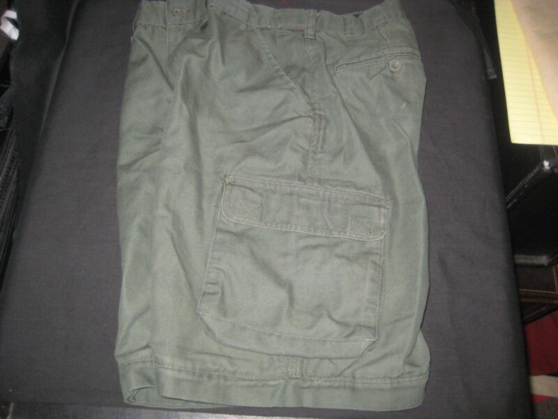 Boy Scout Switchback Pants, no bottoms, Youth 14 waist 29-30         525F