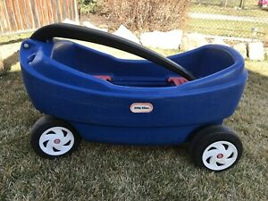 Little tikes double wagon
