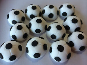 12-EDIBLE-SOCCER-CUPCAKE-DECORATIONS-TOPPERS-CAKE-SET-BIRTHDAY-BALLS-PORT