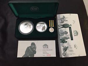 Australians at War Korean War Collectable Coin Set Kelso Townsville Surrounds Preview