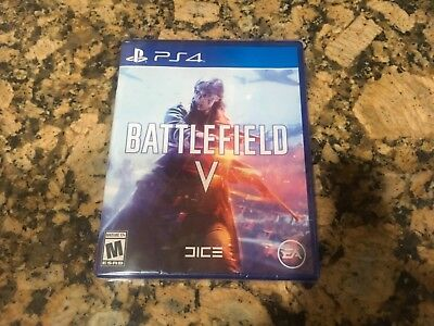 BATTLEFIELD V 5 (PlayStation 4, 2018) BRAND NEW! FACTORY SEALED! FREE SHIPPING!