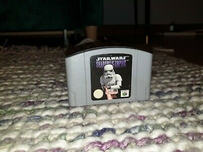 Star Wars Shadows of the Empire Nintendo N64 Cartridge PAL