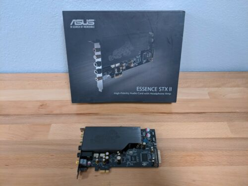ASUS ESSENCE STX II 7.1 Hi-Fi Quality Sound Card & Headphone Amp Music Audio