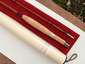 Canne P Che Mouche Bambou Refendu Bamboo Fly Rod Fishing Cane Split No Hardy Ebay