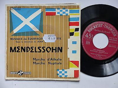 MENDELSSOHN Musique des équipages de flotte Toulon Dir : JEAN MAILLOT 470 c 066 image